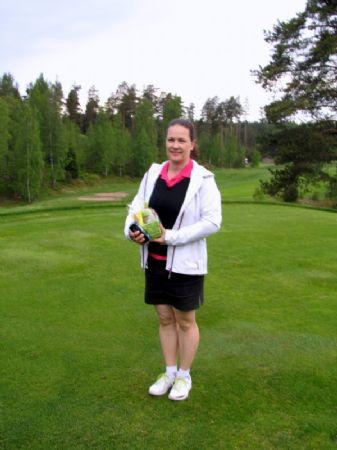 Nina Samlihan oli päivän paras pelaaja.